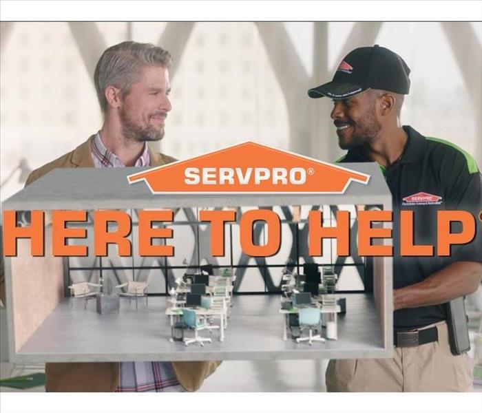 SERVPRO - Here to help